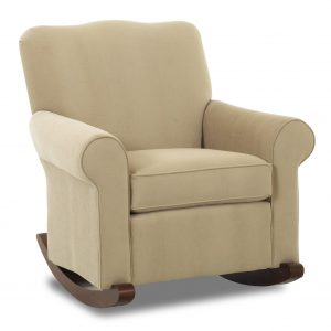 padded rocker chair klaussner chairs and accents c b