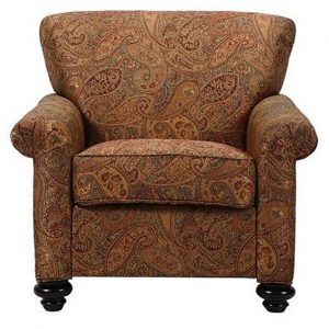 paisley accent chair l