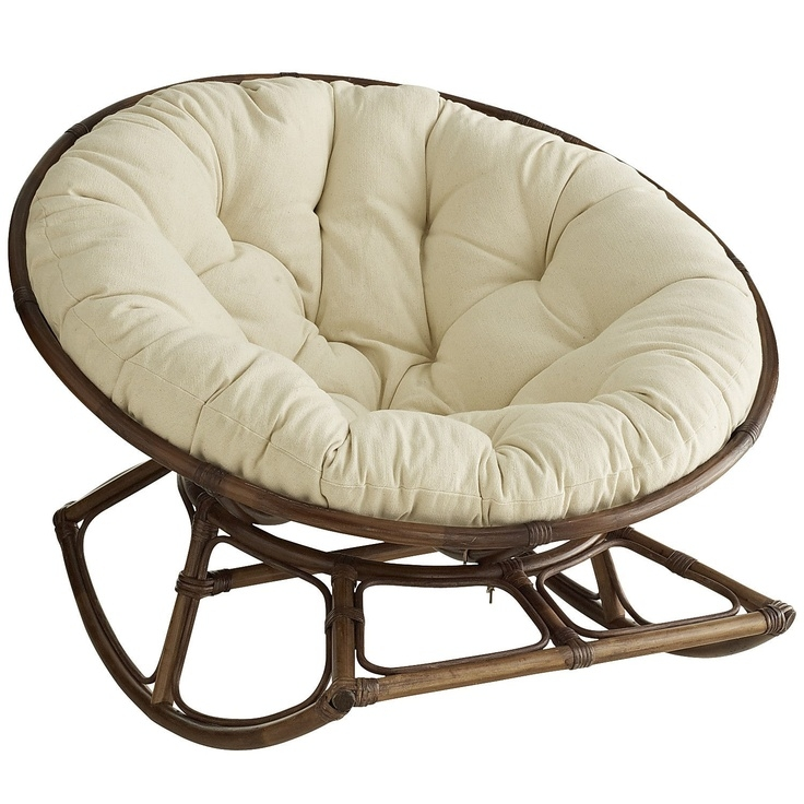 papasan rocker chair