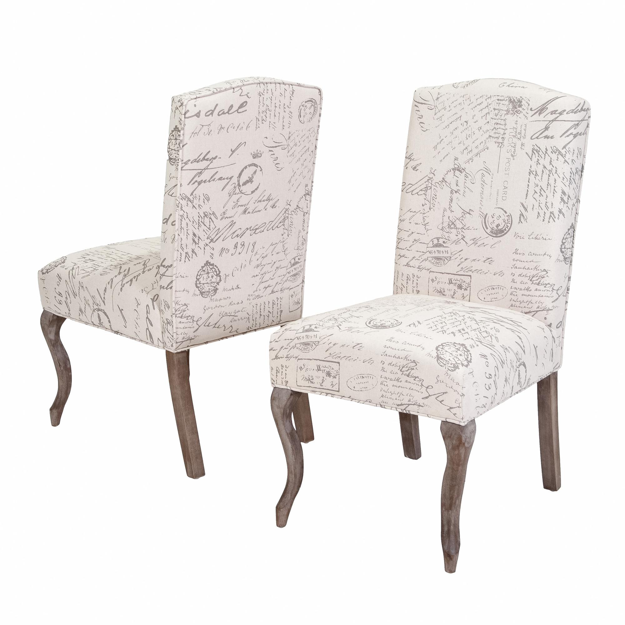 parson chair slip covers