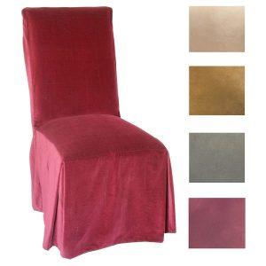 parson chair slip covers microsuede parsons chair slipcover set of dcd f b c acbab