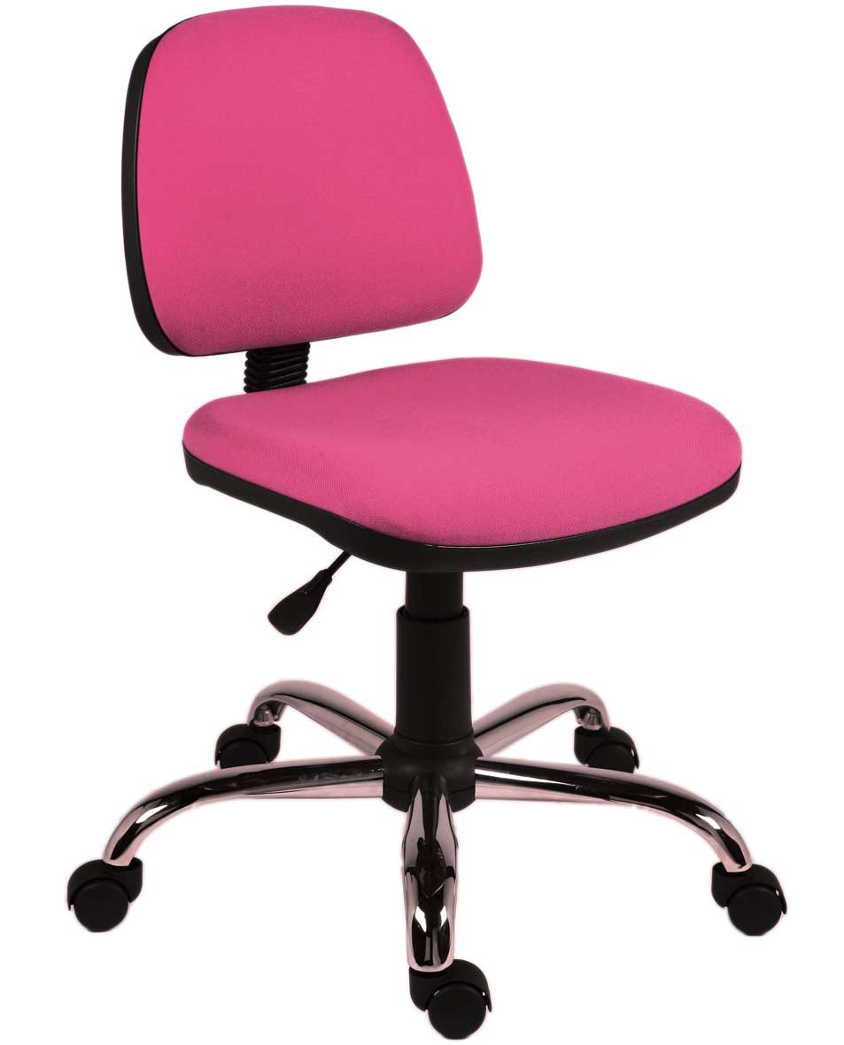 pink computer chair