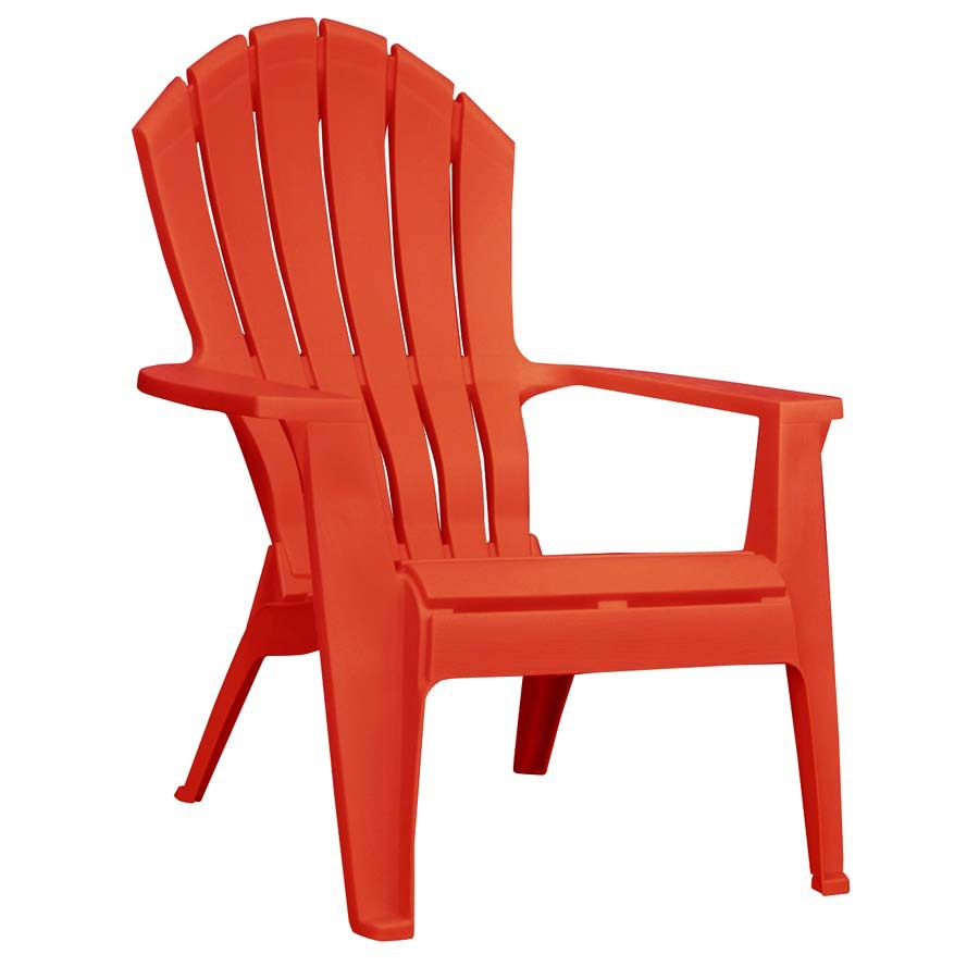 plastic adirondack chair