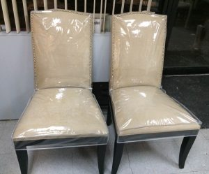 plastic chair covers plastic slipcovers
