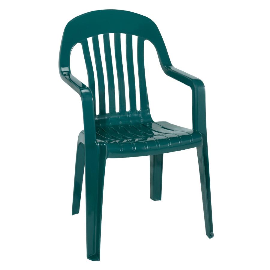 plastic patio chair