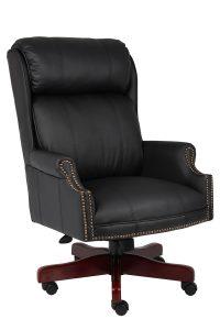 plush office chair b cp