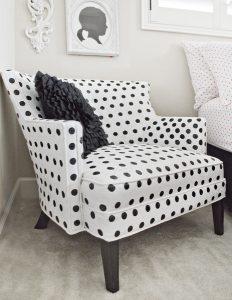 polka dot chair polka dot painted chair