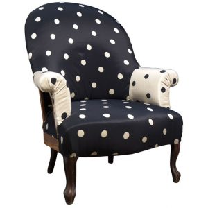 polka dot chair xxx