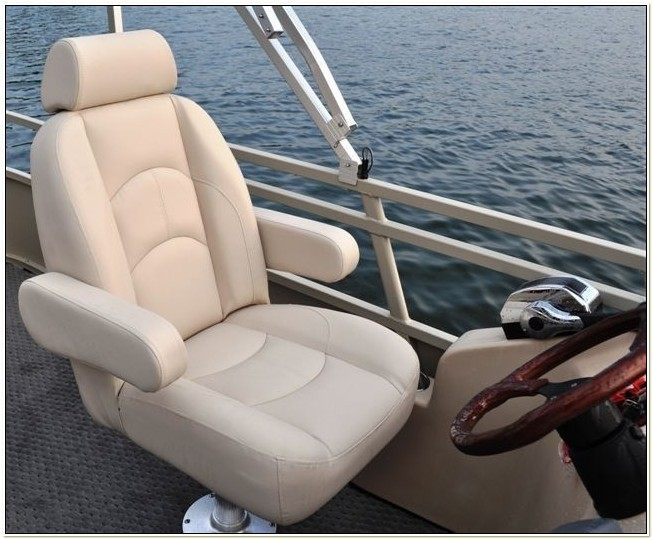 pontoon boat captains chair