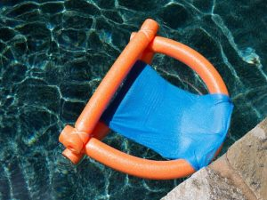 pool chair float pool noodle float