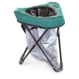 porta potty chair tri to go portable toilet
