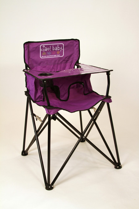portable high chair ciao baby portable high chair purple