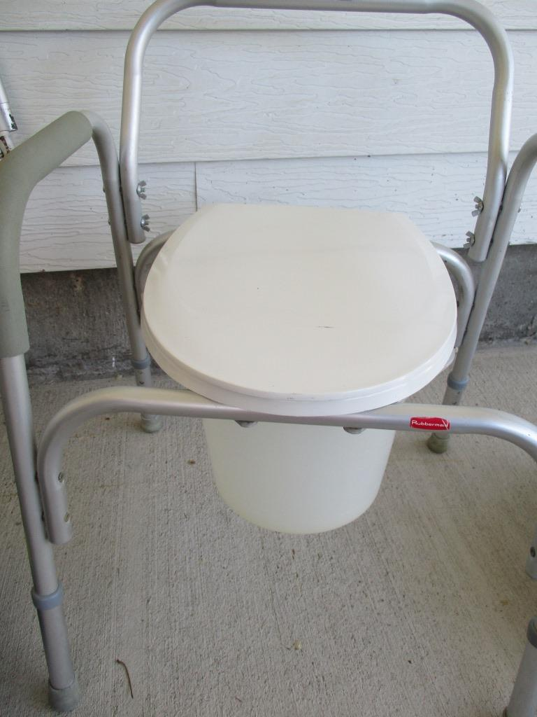 portable potty chair