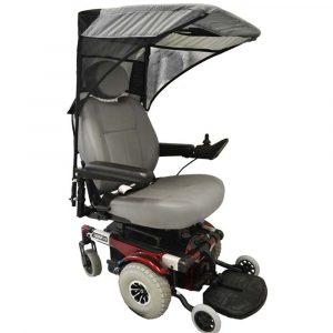 power chair accesories adult wheelchair canopy