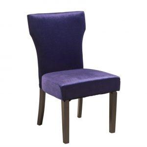purple accent chair l