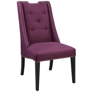 purple accent chair product