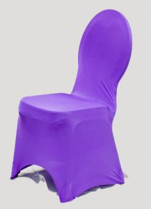 purple chair cover purple