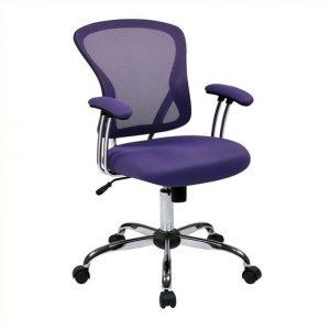 purple desk chair l