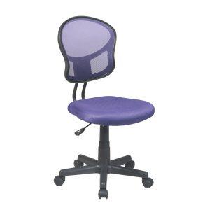 purple desk chair office star em