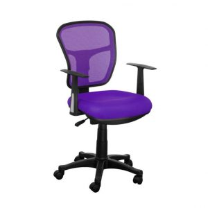 purple desk chair purple mesh back desk chair with simple arms design x