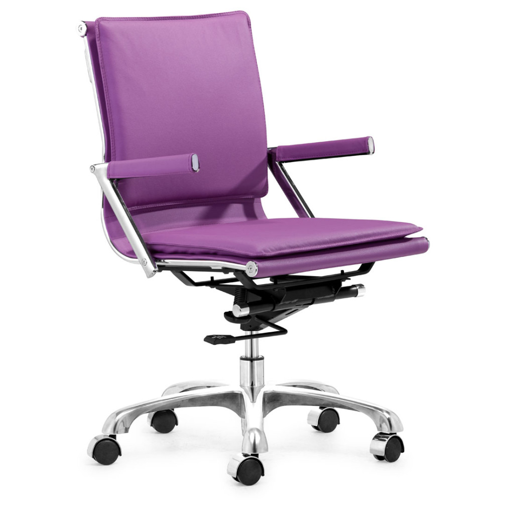 purple office chair super stylish purple desk chair with arms for girls