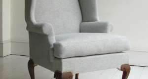 queen anne chair slipcovers howe pale blue