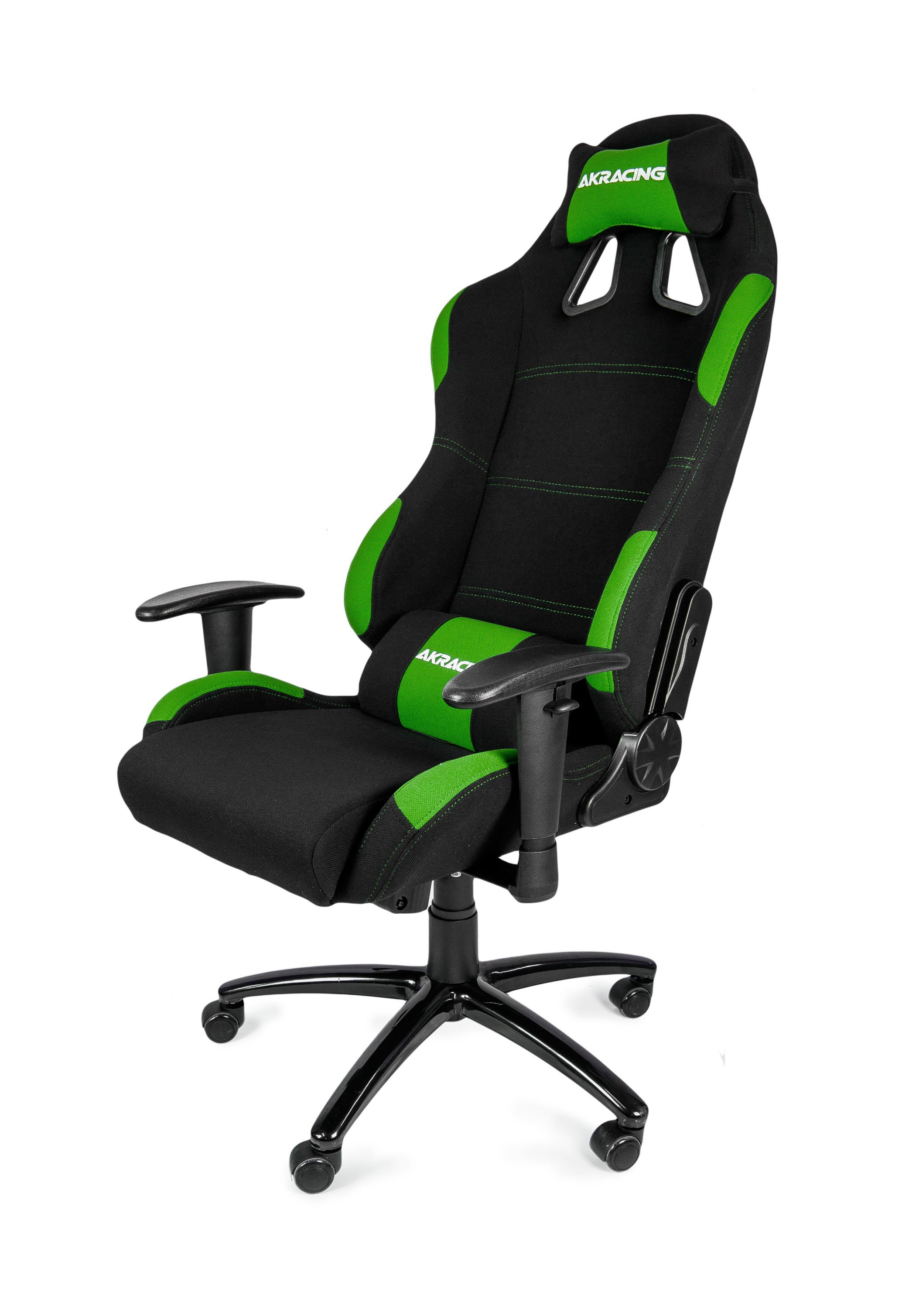 racing gaming chair akracing blackgreen