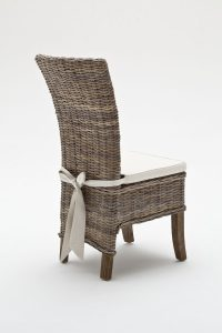 rattan chair cushions belgravia wing back rattan dining chairs with cushion