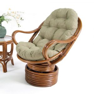 rattan chair cushions boca rattan delta swivel rocker w cushion