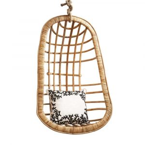 rattan hanging chair two's company hanging rattan chair