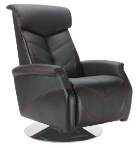 recliner office chair carbon fiber style black car reclining office chair