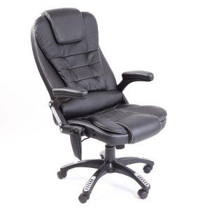 reclining computer chair chmsg black pic
