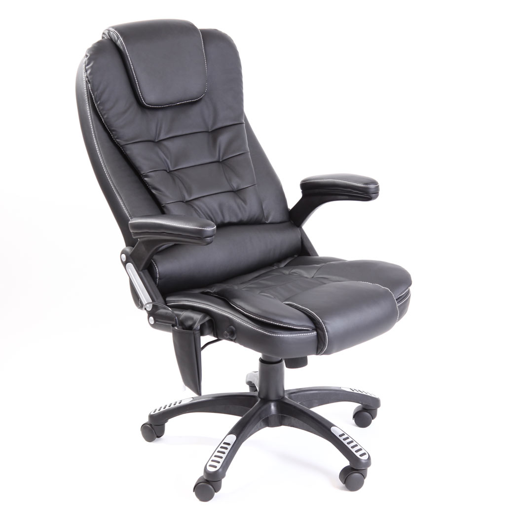 reclining computer chair chmsg black pic