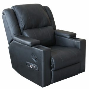 reclining gaming chair reclinerbluetoothsideviewphoto