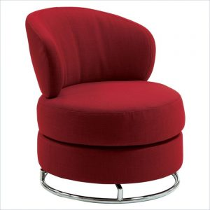 red accent chair l