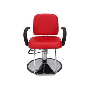 red chair salon c salon chair red