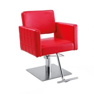 red chair salon gwyneth red salon chair