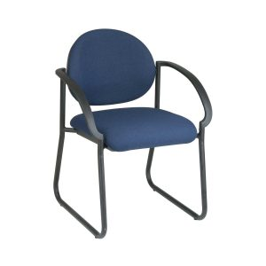 resin outdoor chair office star blue stacking chair with deluxe sled base