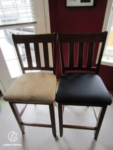 reupholster dining chair compare