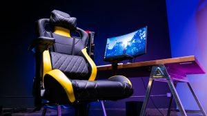 rgb gaming chair corsair gaming chair review