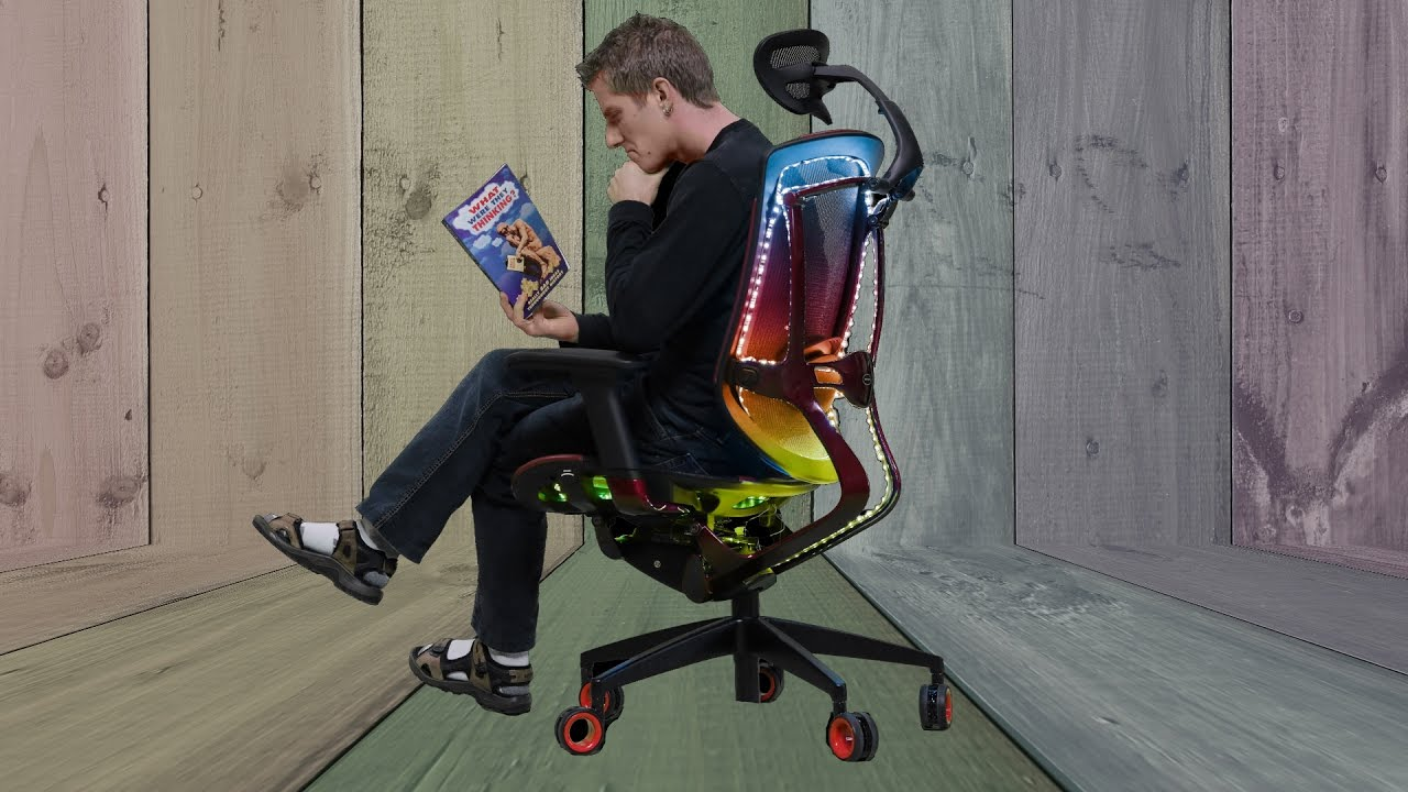 rgb gaming chair