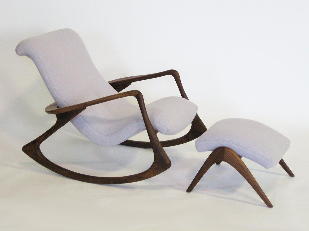 rocker chair and ottoman