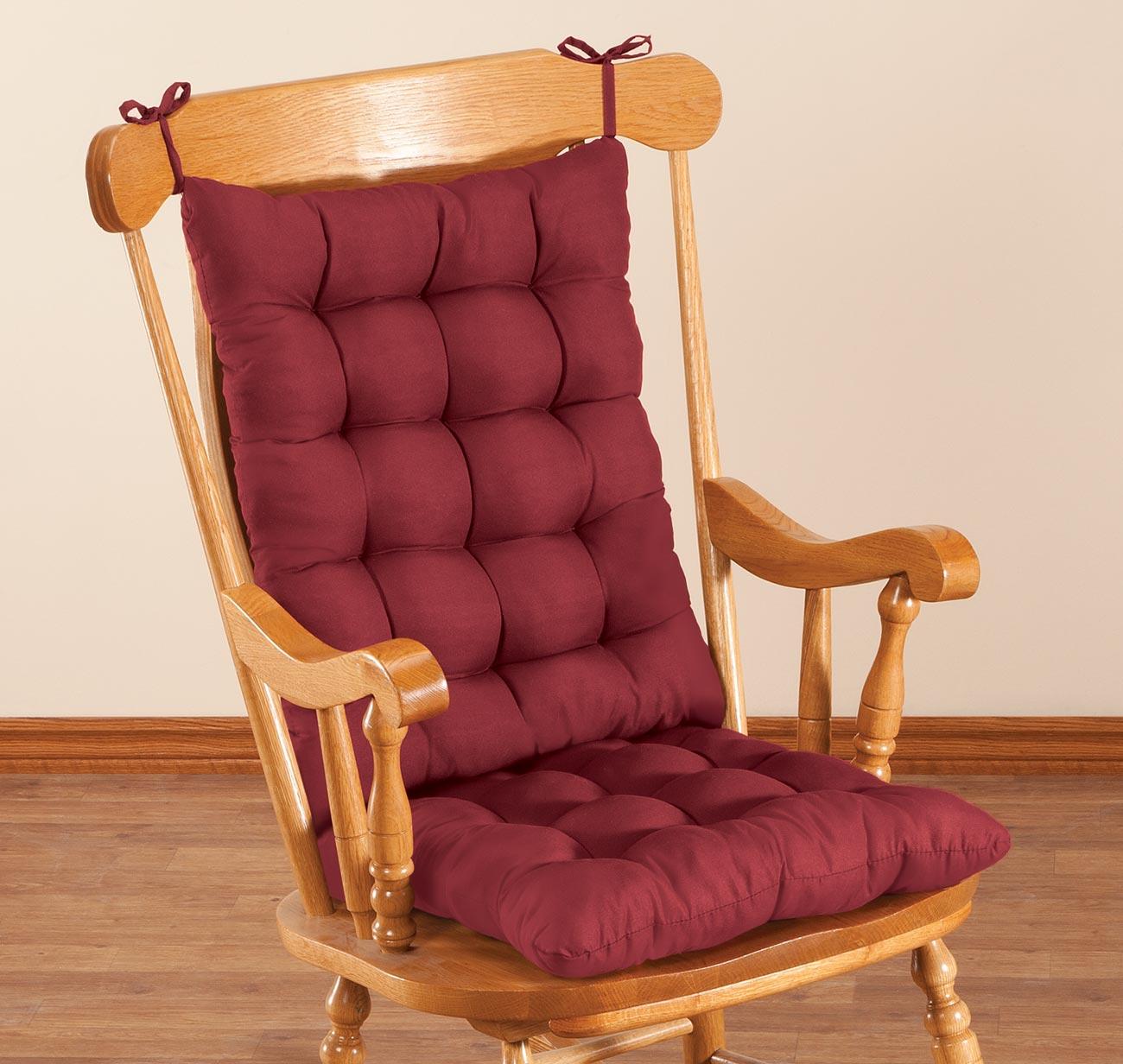 rocking chair cushion set