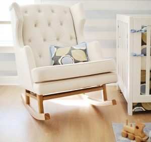 rocking chair for babys room nursery rocking chair white colors