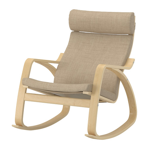 rocking chair ikea poang rocking chair beige pe s