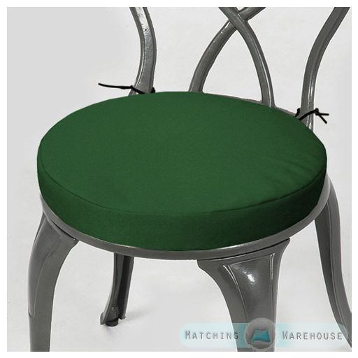 round bistro chair cushion