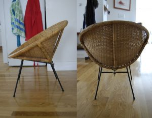 round wicker chair roundchairsideback