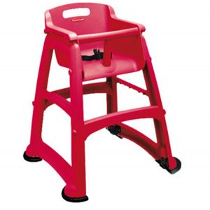 rubbermaid high chair rubbermaid red sturdy high chair