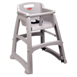 rubbermaid high chair rubbermaid fgplat platinum sturdy chair restaurant high chair with wheels