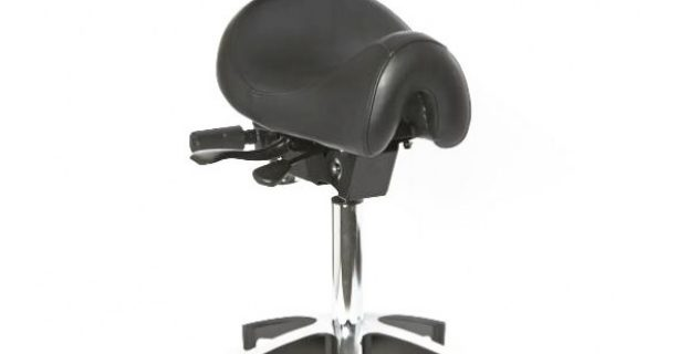 saddle ergonomic chair ergo saddle back chair alu base x